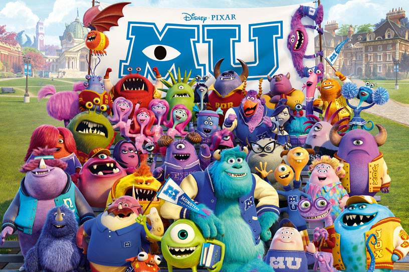 影評|【怪獸大學】Monsters University